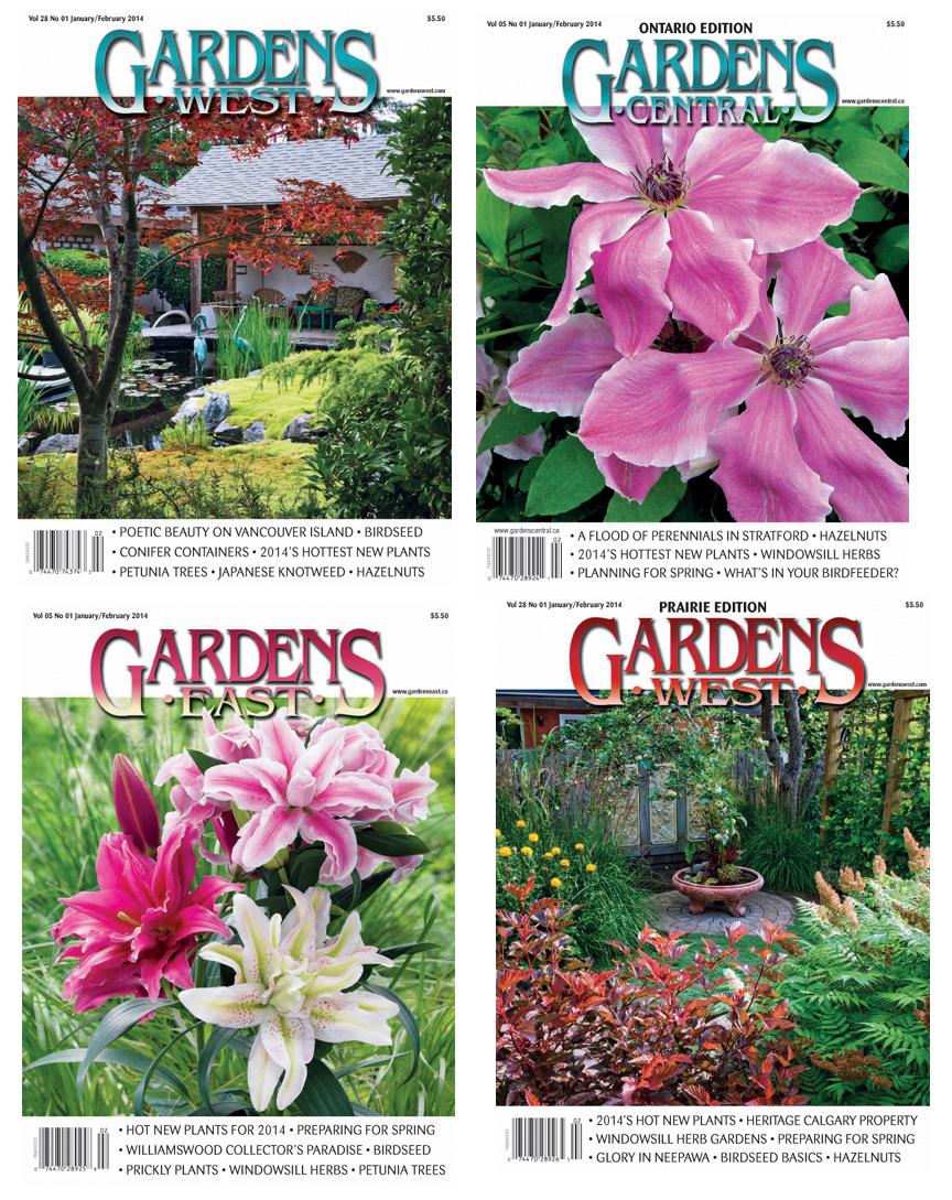Top 28 Gardens West Magazine Fine Gardening Magazine